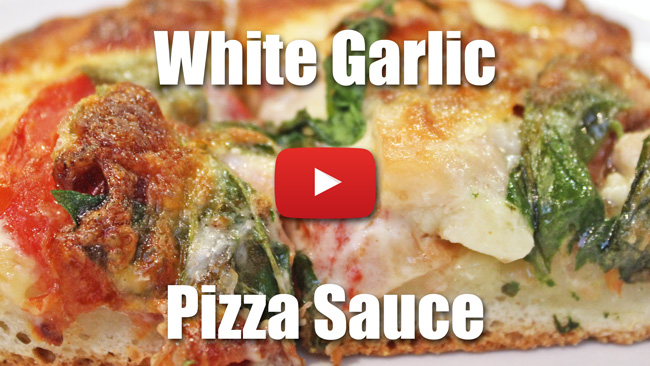 White Garlic Sauce For Pizza