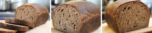 Eastern European Style Brown Bread