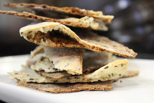 Seeded Lavash Crackers