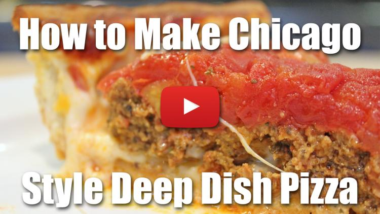 How to Make a Chicago Style Deep Dish Pizza