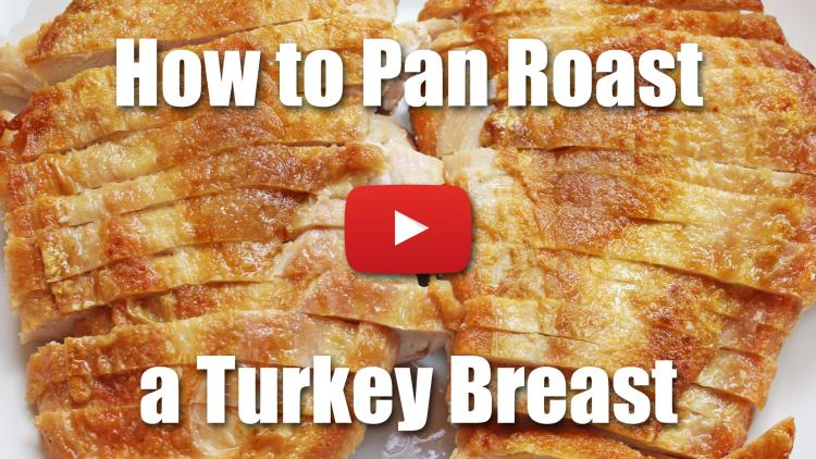 How to Cook Turkey Breast Recipe - Pan Roasting
