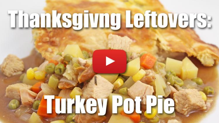 Thanksgiving Day Leftovers: How to Make Turkey Pot Pie