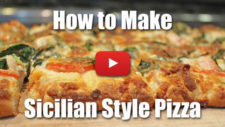 How to Make Sicilian Style Pizza or Pizza Romano