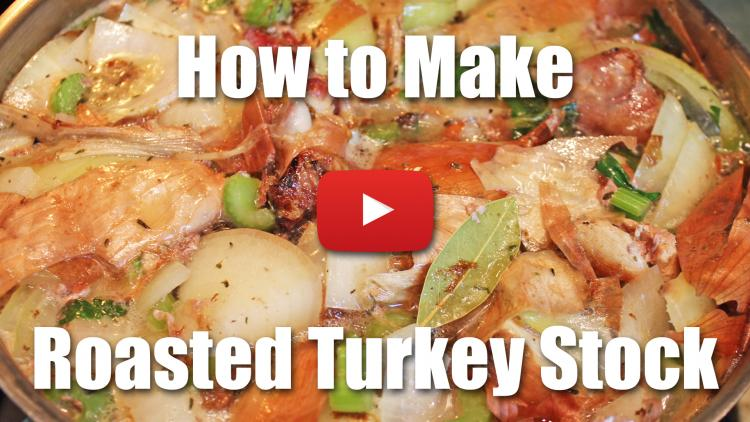How to Cook Turkey - How to make Turkey Stock