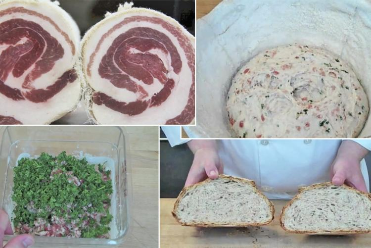 Pancetta-Parsley Sourdough Boule - Recipe