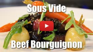 Sous Vide Beef Bourguignon