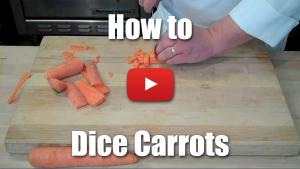 How to Dice and Julienne Carrots - Culinary Knife Skills - Video