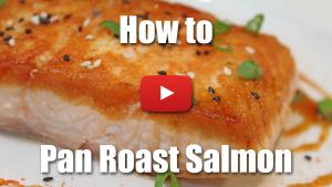 How to Pan Roast a Fillet of Salmon - Video Technique