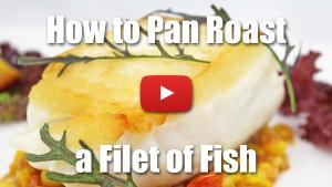 How to Pan Roast a Fillet of Fish - Video Technique
