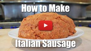 How to Make Fresh Italian Sausage for Pizzas and Patties
