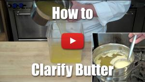 How to Make Clarified Butter - Video