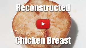 Reconstructed Chicken Breast Using Activa RM (Transglutaminase) - Video