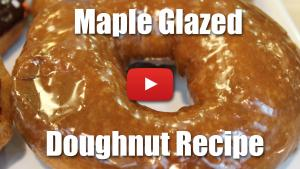 Maple Glazed Doughnut - Video Recipe