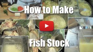 How to Make Fish Stock - Video Technique