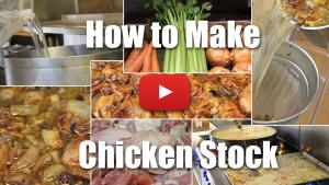 How to Make Chicken Stock - Video