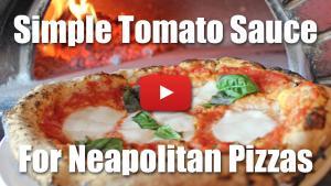 Tomato Sauce for Neapolitan Pizzas